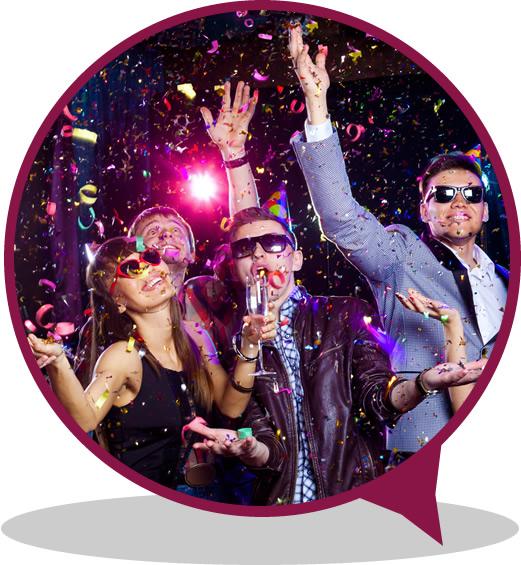Organizzazione eventi e feste al Bar Hollywood